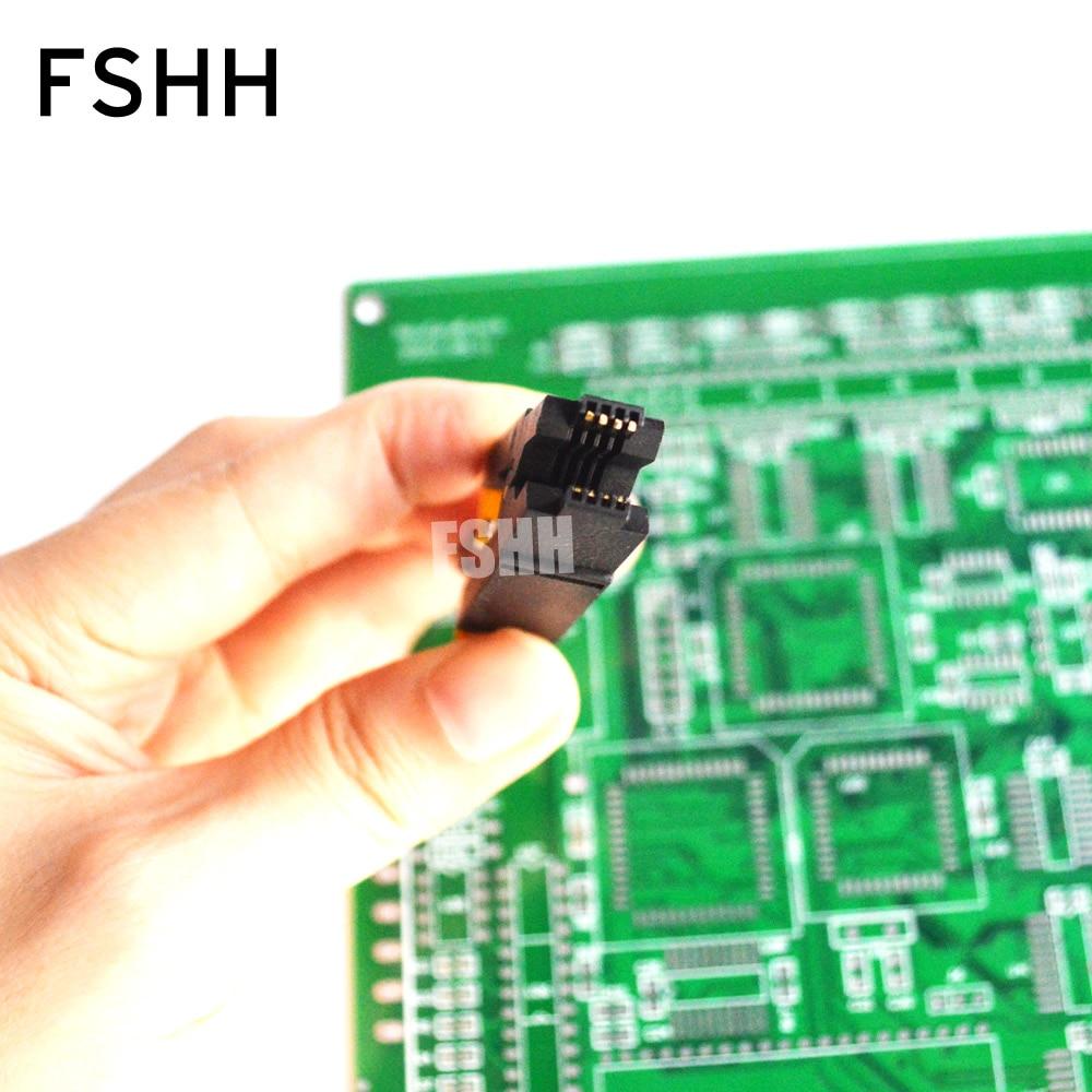 Image 5 - 150mil 200mil SOIC8 SOP8 Тесты зажим для EEPROM/93CXX/25CXX/24CXX программирование в цепи-in Промышленный компьютер и аксессуары from Компьютер и офис