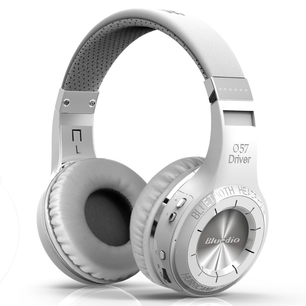 ФОТО Bluedio HT(shooting Brake) Wireless Bluetooth 4.1 Stereo Headphones (White)