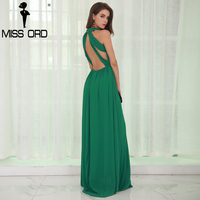 Free Shipping 2015 Sexy Backless Sleevelesst Green DRESS FT2255