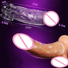 Newest Adult Transparent Silicone Reusable Condoms Male Penis Lengthening Soft Contex Dick Ring Couples Sex Toys