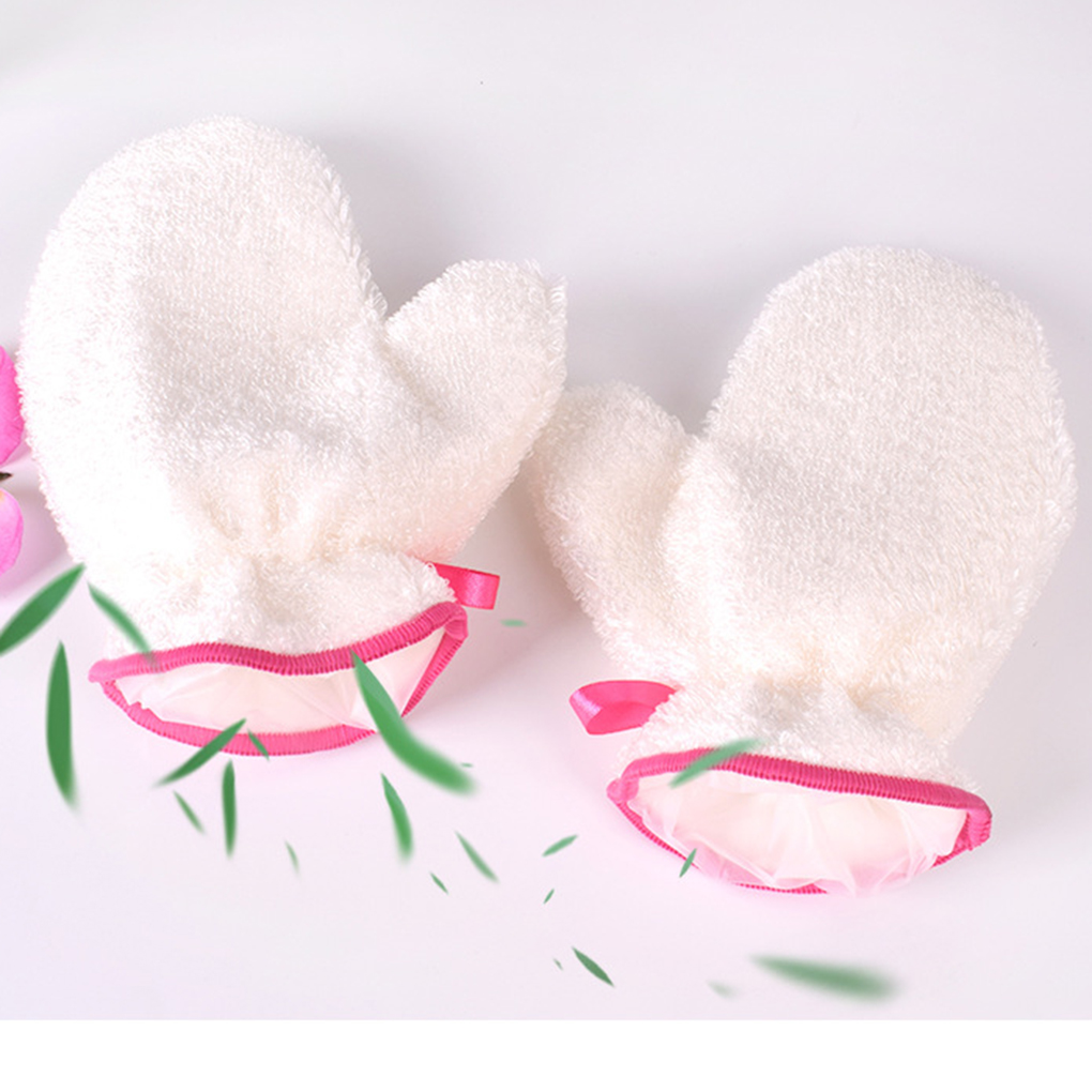 1 Paar Antislip Bambus Faser Gericht Handschuhe Verdicken Wasserdicht Küche Waschen Schüssel Haushalt Reinigung Handschuhe Auf Dem Internationalen Markt Hohes Ansehen GenießEn