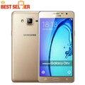 Original samsung galaxy on7 g6000 4g lte teléfono móvil del sim dual 5.5 ''pulgadas Android 5.1 Quad Core RAM1.5G ROM 8 GB/16 GB 13MP Cámara