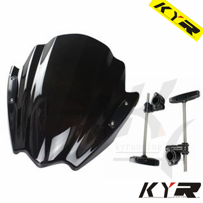new bike motorbike windshield windscreen for yamaha mt 07. Black Bedroom Furniture Sets. Home Design Ideas