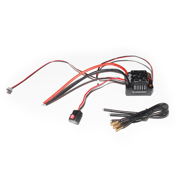 F17812 Hobbywing EZRUN MAX10 SCT BEC Waterproof  2-4S Speed Controller  Brushless ESC for 1/10 RC Car Truck