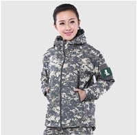 New Casual Women TAD Lurker Shark Skin Soft Shell Military Tactical Jacket Waterproof Windproof Army Outerwear