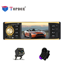 Topbox 4019B Autoradio 4 1 inch 12V Car Radio Audio Stereo Radios AUX FM Station Bluetooth