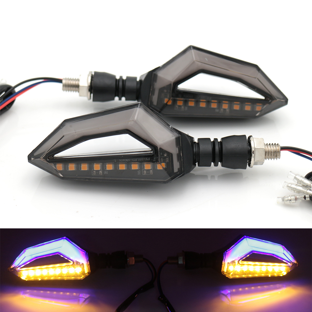 Universal Motorcycle Led Turn Singal Lights Lamp Indicators Flashers Blinker For Aprilia BMW Ducati Harley Honda new arrival