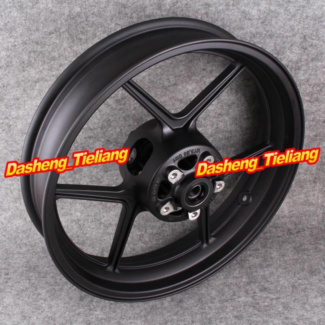 Motorcycle New Black Front Wheel Rim For Kawasaki 2004 2005 Ninja ZX10R &2006 2012 ER6N