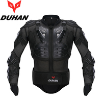 DUHAN Motorcross Racing Full Body Breast Column Protection Armor Spine Chest Jacket Gear Motorcycle Riding Off