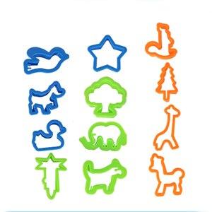 Image 3 - 26 Chiếc DIY Chất Nhờn Họ Nhựa Khuôn Mô Hình Bộ Đất Sét Chất Nhờn Nhựa Bột Nặn Bộ Dụng Cụ Cắt Moulds Đồ Chơi Cho Trẻ Em kid Tặng