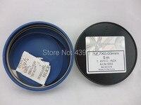 Free Shipping NEW 0 03mm Steel Thickness Feeler Gage 12 7mm X5m Feet Machinist Feeler Gageeach