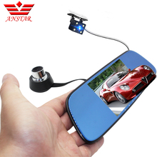 ANSTAR 5 Car DVR font b Camera b font Dual Lens Rearview Mirror Video Recorder FHD