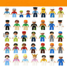Large particle  toy doll puzzle of children