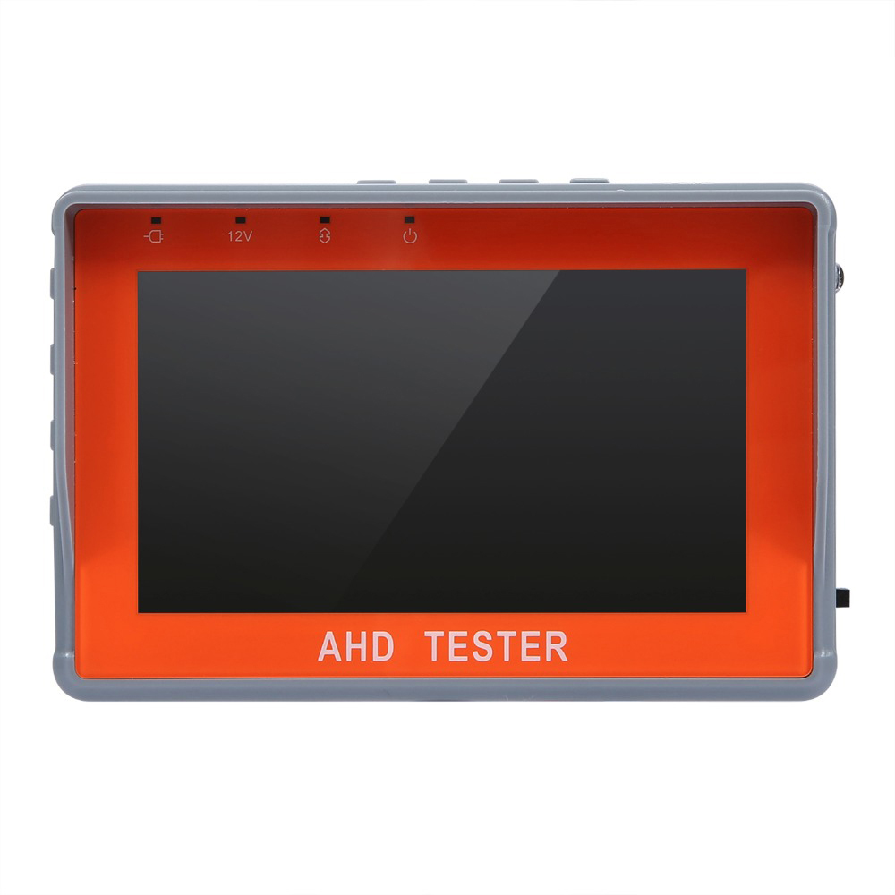 ANNKE 4.3 Inch LCD HD AHD CCTV Tester Monitor AHD 1080P Analog Camera Testing PTZ UTP Cable Tester 12V1A Output IP Converter