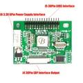 3.3 V 30 Pinos LVDS Transformar A Conversão Conversor de Sinal EDP LCD Controlador Board para 1920x1080 P 1366x768 P Display LCD Painel EDP