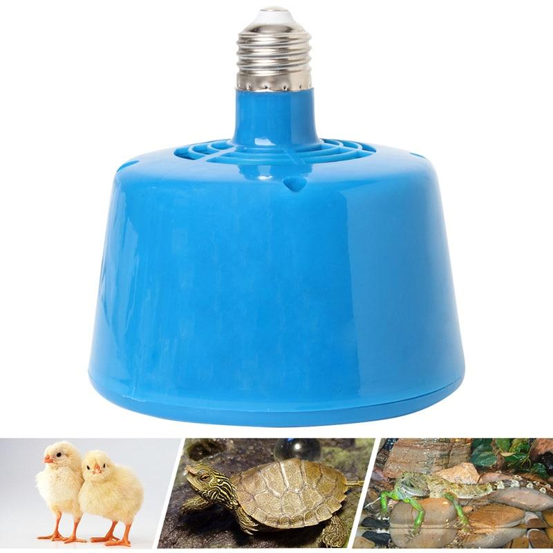 Голубые Домашние животные поросята цыплята жара Аромалампа держат согревая лампу 220 V 100-300 W
