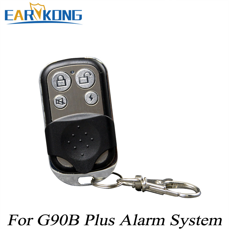 433MHz Wireless Metal Remote Controller Wireless Key Chain Only For G90B  Plus Wifi GSM Alarm System