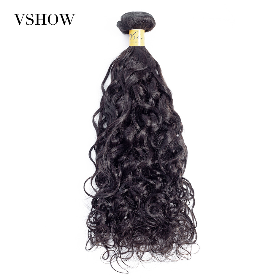 Brazilian Natural Wave Hair Bundles Remy Hair Extension VSHOW Hair Products Can Buy 3 Or 4 PC 100% Human Hair Weave Bundles