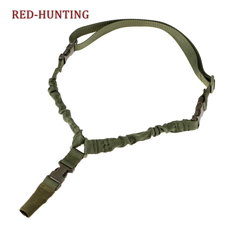 Tactical 1 Single Point Rifle Gun Sling Strap System Airsoft 1 Point Gun Sling