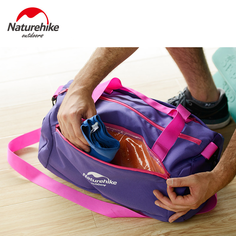 NatureHike Swimming Folding Bag Combo Dry Wet Gym Sports Bags Outdoor Single Shoulder Waterproof Large Capacity Handle In From