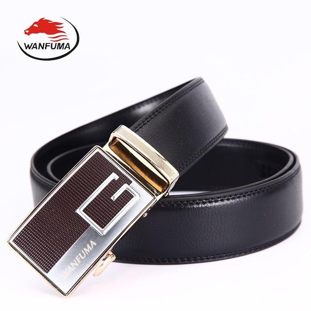 1eea874bf494 Ceintures cummerbunds tout-allumette de luxe marque hommes ceinture  ceinture automatique boucle homme en cuir