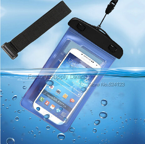 online store a51bf 38a35 US $3.8 |PVC Waterproof Phone Underwater Case with band For 4.5