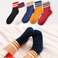 fashion 5 pair Children long socks spring  winter warm THICK Terry socks cotton kids 3 to 11 years old fashion comfortab