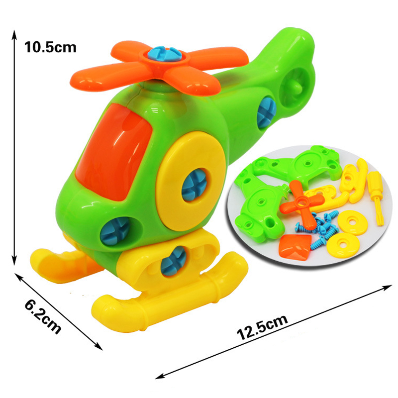 Kids Baby Early Learning Pussel Leksaker Leksaker Flygplan Kids - Spel och pussel - Foto 6