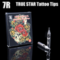 Recommend 5PCS Premium Tattoo Tips Nozzle 7R TRUE STAR 316L Stainless Steel Tattoo Tip Round Size 7R For Tattoo Supplies
