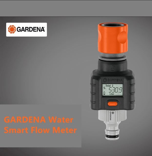 The Innovative Gardena Water Smart Flow Meter Allows Targeted