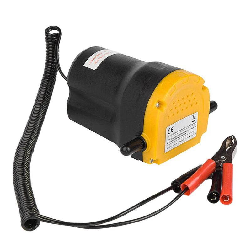 New Car Gas Pump 12/24V 60W Car Electric Submersible Pump Fluid Oil Drain Extractor For RV Boat ATV Tubes Truck