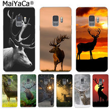 MaiYaCa Animal Deer Fashion Phone Case Cute Funny Cartoon Cases for Samsung S9 S9 plus S5 S6 S6edge S6plus S7 S7edge S8 S8plus(China)