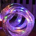 Creative LED String Butterfly Knot Light Ribbon Light Strings Lighting Chains for Wedding Christmas Trees Party Decoration MFBS