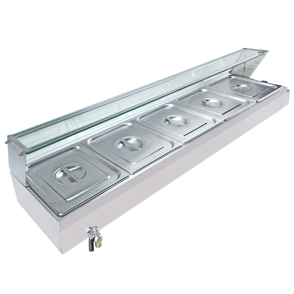 High Quality Electric Bain Marie Food Warmer Buffet Equipment Tray Equipment For Commercial Restaurant Pool Soup