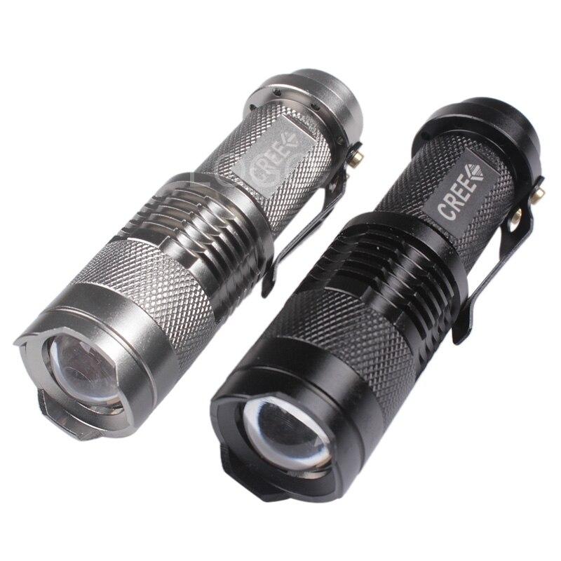 Best Quality Mini 2000 Lumens CREE Q5 LED Adjustable Zoom Fos