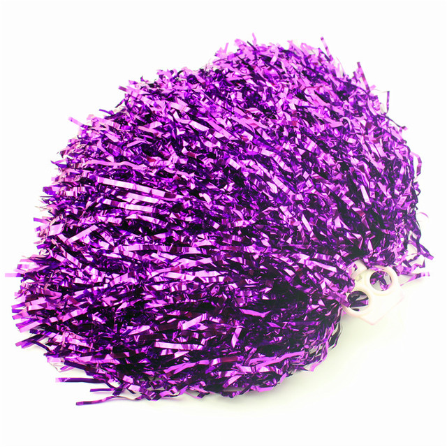 purple red Small cheer pom poms 5c64fbbde4060