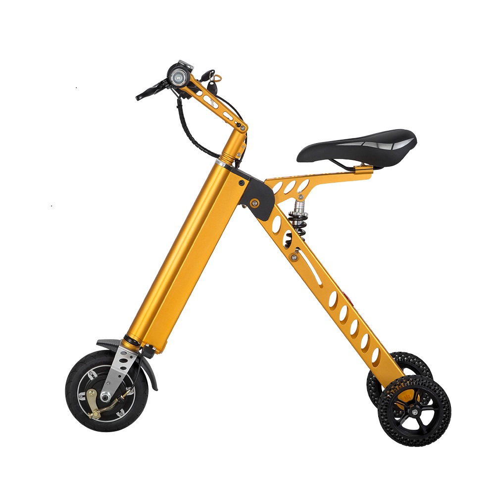 3 Wheel Foldable Electric Scooter Portable Mobility Folding Bike Lithium Battery 36v Bicycle E In From Sports Entertainment