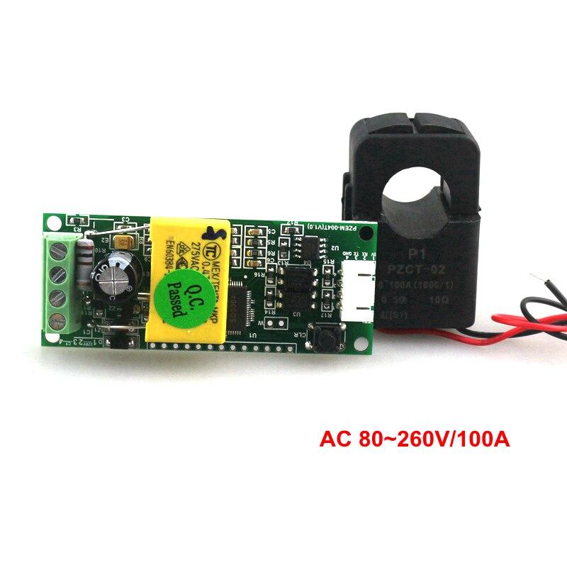 ELEGIANT AC 80-260V 100A Digital Current Voltage Amperage LCD Power Panel Meter Power Energy Meter Ammeter Voltmeter AC Volt Amp Testing Gauge Monitor