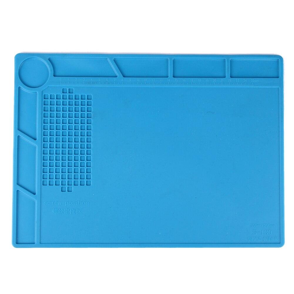 1pc Heat-resistant Heat Gun BGA Soldering Station Repair insulation pad insulator pad desk mat maintenance platform heat pad