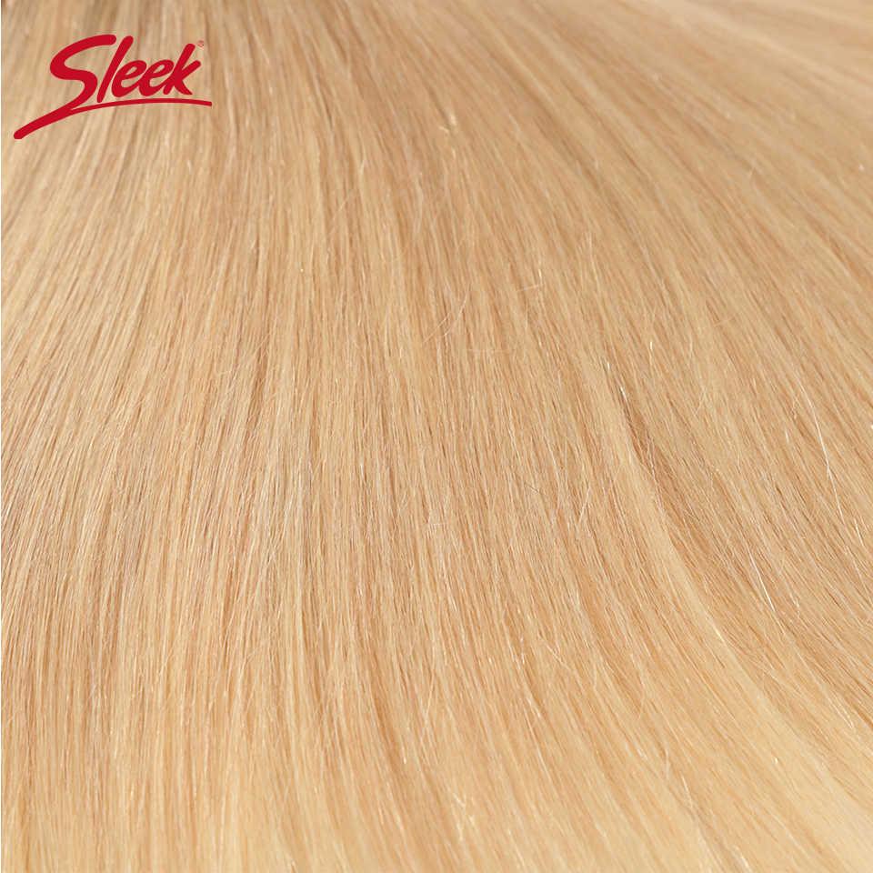 Paquetes de armadura de pelo brasileño Remy elegante de 10 a 26 pulgadas extensión de cabello humano recto miel rubia P27/16/613 paquetes de armadura de cabello