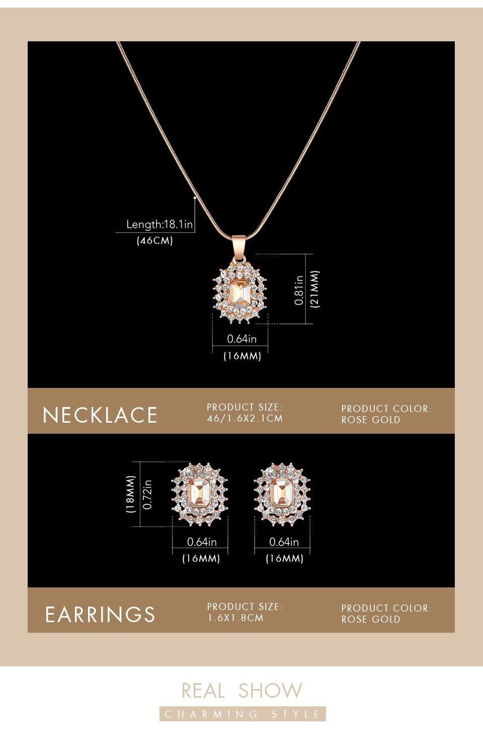 _06 Montres cristal bijoux ensemble pour femmes
