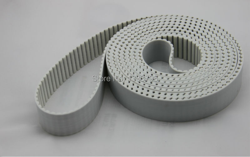 PU material with steel code inside strong AT10 power close loop timing belts