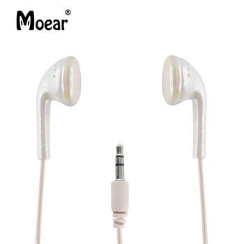Moear In Ear Wired 3.5 mm Cute Cartoon Kids Earphone Children Earbuds Headphone