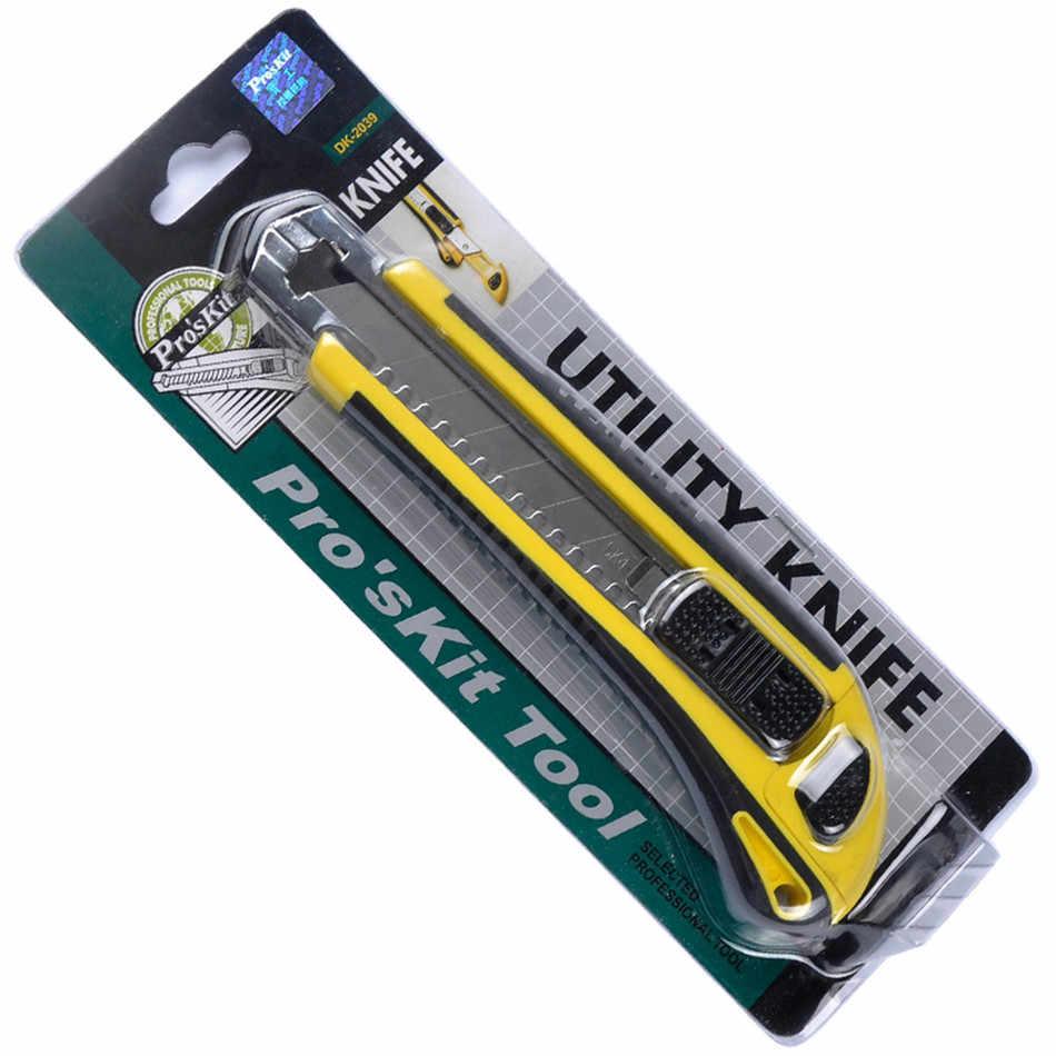 DK-2039 効果的なクリエイティブオールインクルーシブプラスチック Utillty ナイフ本ナイフ自動ナイフカートリッジ 3 個ブレード