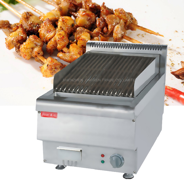 Business Desktop Electric Barbecue Grill Machine Environmental Smoke Free  Barbecue Portable BBQ Machine
