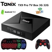 Tanix TX9 Pro TV Box Android 7 1 OS 3G RAM 32G ROM Amlogic S912 Octa