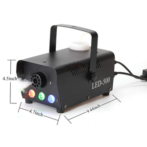 Image 5 - Aimkeeg 500W Wireless Control LED Fog Smoke Machine Remote RGB Color Smoke Ejector LED Professional DJ Party Stage Light