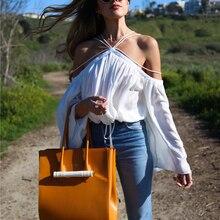 AEL, сексуальная шифоновая рубашка с воротником-хомутом, с открытыми плечами, новинка, летние женские свободные топы, Модная элегантная женская блузка, высокое качество, белая