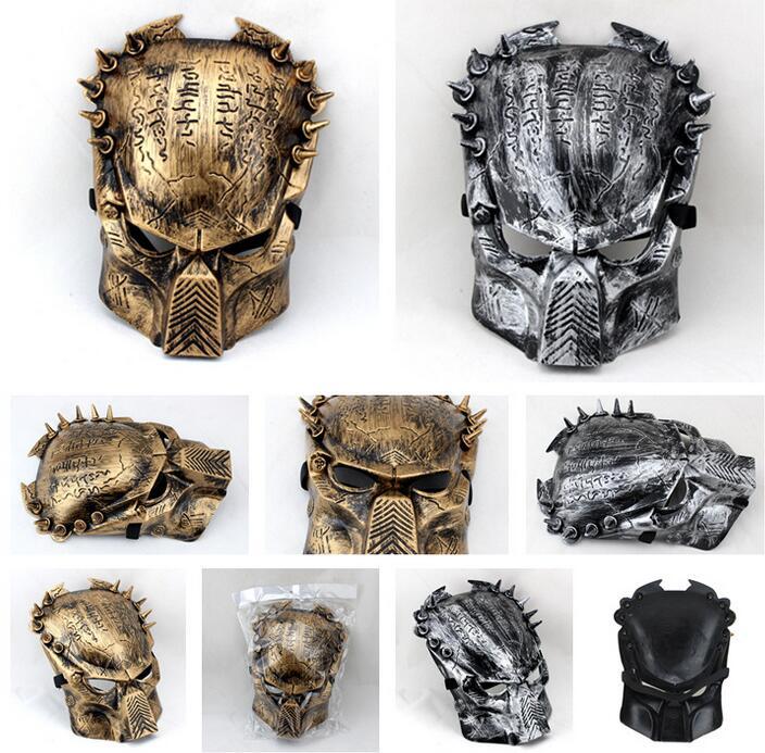 Iron warrior Masks Man Supper Alien Predator Mask Warrior Movie Prop avpr lone Wolf full face party Halloween <font><b>Terror</b></font> Mask <font><b>new</b></font>
