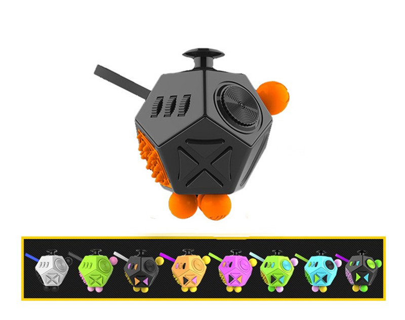 In stock! NEW Fidget Cube 2 Toys for Girls Boys Christmas Gift The First Lot of the Best Christmas Gift Sale Anti Stress Cube